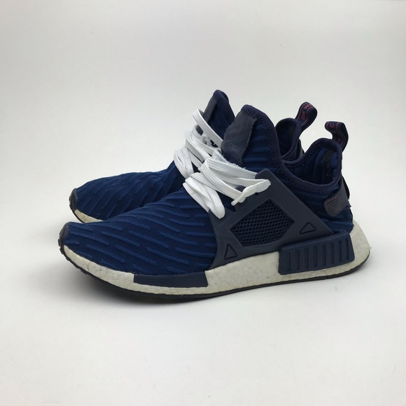 new arrival c76d8 35468 Adidas NMD XR1 Boost PK Navy Blue White Size 9.5